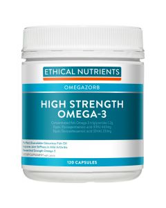 Ethical Nutrients OMEGAZORB High Strength OMEGA-3 Capsulesules 120 Capsules
