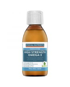 Ethical Nutrients High Strength Omega-3 Fresh Mint 170mL