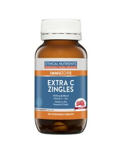 Ethical Nutrients Extra C Zingles (Berry) 50 Tablets