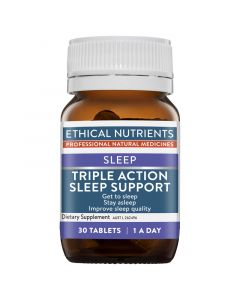 Ethical Nutrients Triple Action Sleep Support 30 Tablets