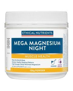 Ethical Nutrients Mega Magnesium Night 126g