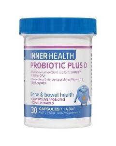 Inner Health Probiotic Plus D 30 Capsules
