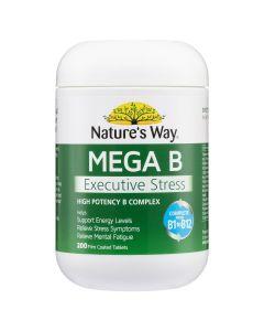 Nature's Way Mega B Executive Stress 200S