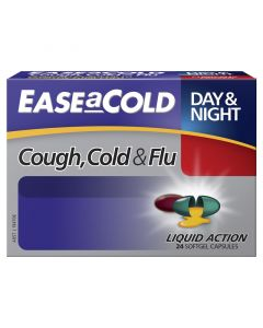 EASEaCOLD Cough, Cold & Flu Day/Night 24s