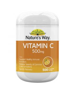 Nature's Way Vitamin C 500Mg 500S