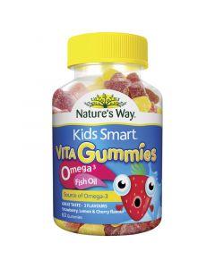 KIDS SMART VITA GUMMIES OMEGA-3 FISH OIL 60s