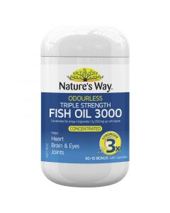 Nature's Way F/Oil Triple Strength 60+10