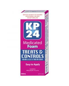 KP24 Medicated Foam KIT