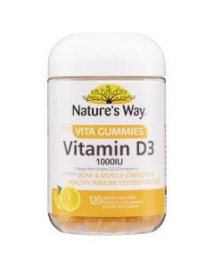 Nature's Way Gum Adult Vit D 120S