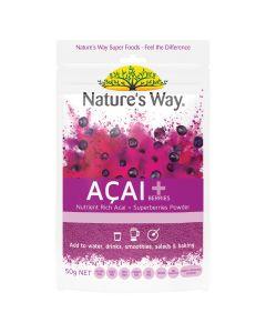 Nature's Way Sf Acai + Berries 50G
