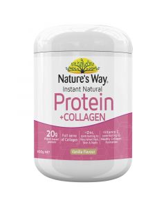 Nature's Way Instant Natural Protein + Collagen 300g