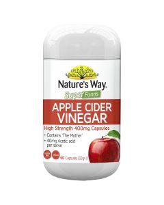 Nature's Way Sf Apple Cider Vinegar 60S