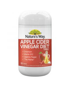 Nature's Way Acv Diet Tablets 60S