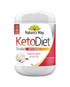Nature's Way Keto Diet Shake Vanilla 300g