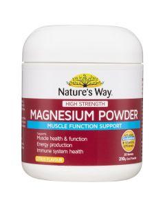 Nature's Way Hs Magnesium Powder 210G