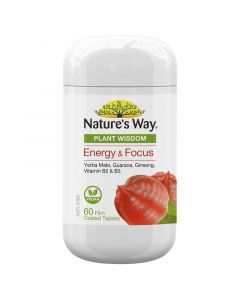 Nature's Way Plant Wisdom Energy 60 Tablets