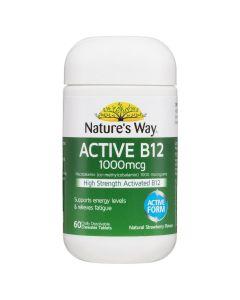 NW ACTIVE B12 CHEWABLE 60