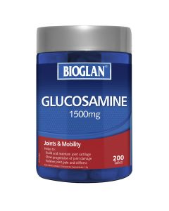 Bioglan Glucosamine 1500Mg 200S