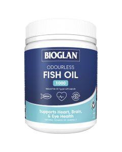 Bioglan Odourless Fish Oil 1000 400 Capsules
