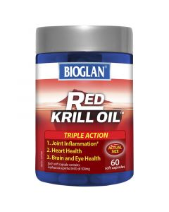 Bioglan Red Krill 500Mg 60S