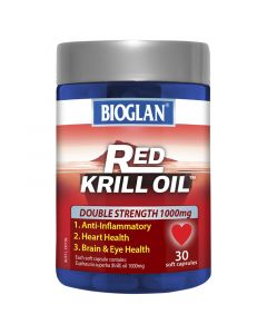 Bioglan Red Krill 1000Mg 30