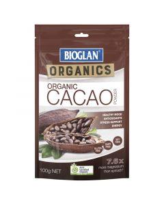 Bioglan Organics Cacao Powder 100G