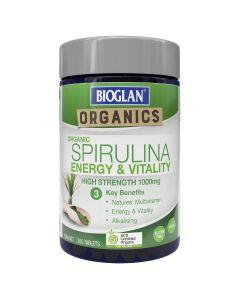 Bioglan Organic Spirulina 1000mg 200 Tablets