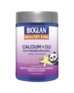 Bioglan Healthy Kids Calcium+D3 50S
