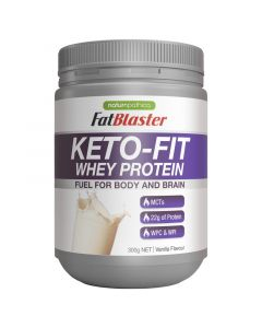 Naturopathica FatBlaster Keto-Fit Whey Protein Vanilla 300g