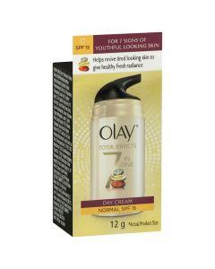 Olay Total Effects Face Cream Moisturiser Normal SPF 15 12g
