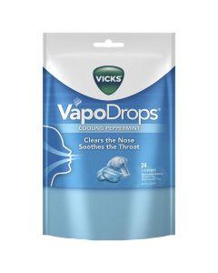 VICKS VAPODROPS BLUE 24