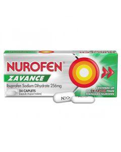NUROFEN ZAVANCE CAPLETS 24