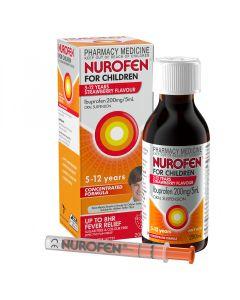 NUROFEN CHILD 5-12 YEARS STRAWBERRY 200ML