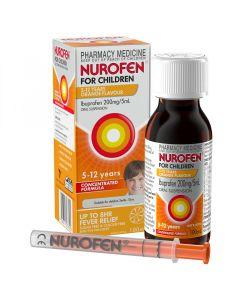 NUROFEN CHILD 5-12 YEARS ORANGE 100ML
