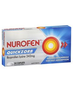 NUROFEN QUICKZORB CAPLETS 24