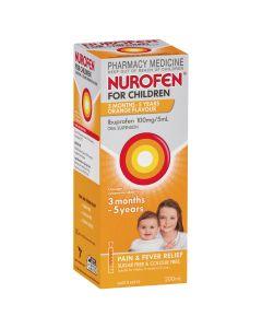 NUROFEN CHILD 3M-5YR ORANGE 200ML