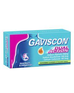 GAVISCON TABS DUAL ACTION 32