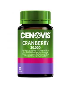 Cenovis Cranberry 30,000 Capsules 30