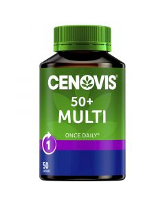 Cenovis Once Daily 50+ Multi Capsules 50