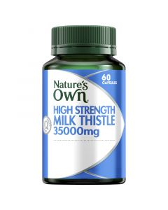 Nature's Own High Strength Milk Thistle 35,000Mg Capsules 60