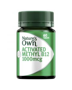 NO ACTIVATED METHYL B12 TABLETS 60