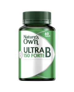Nature's Own Ultra B 150 Forte Tablets 60