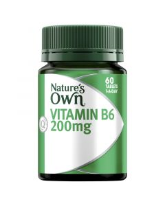 Nature's Own Vitamin B6 200Mg Tablets 60