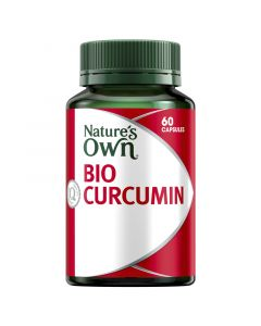 Nature's Own Bio-Curcumin 550Mg Capsules 60