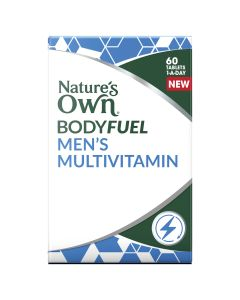 Nature's Own Bodyfuel Mens Multivitamin 60 Tablets