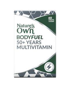 Nature's Own Bodyfuel 50+ Multivitamin 60 Tablets