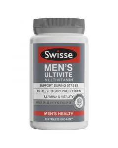 Swisse Men's Ultivite F1 120 Tablets