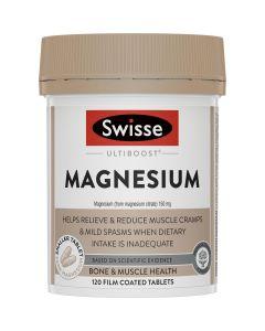 Swisse Ultiboost Magnesium 120 Tablets