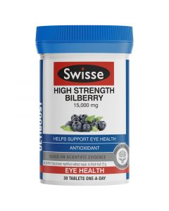 Swisse Ultiboost High Strength Bilberry 30 Tablets