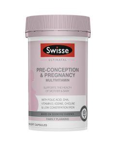 Swiss Ultinatal Pre-Conception & Pregnancy Multivitamin 180 Capsules